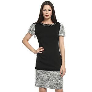Balizza Siyah/Kırçıllı Elbise