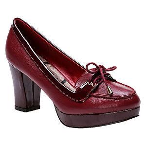 Canzone Bordo Topuklu Ayakkabı