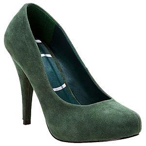 Canzone Yeşil Topuklu Ayakkabı