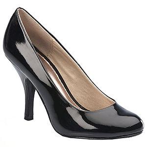 Chinese Laundry Siyah Rugan Topuklu Ayakkabı