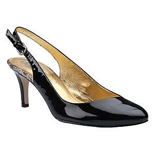 DaniBlack Siyah Rugan Ayakkabı
