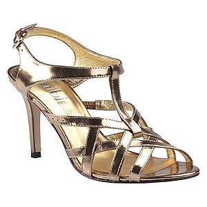 DaniBlack Topuklu Altın Rengi Ayakkabı
