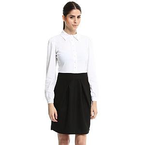 Enmoda Beyaz/Siyah Elbise