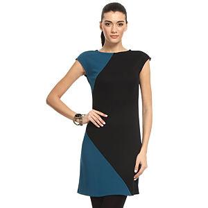 Enmoda Petrol Mavisi/Lacivert Elbise
