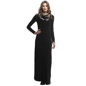 Enmoda Siyah Maksi Elbise