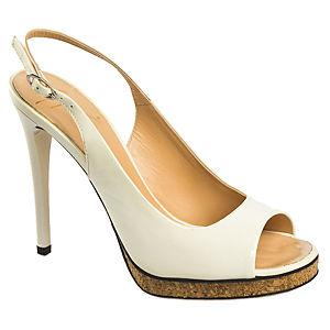 Giuseppe Zanotti Beyaz Topuklu Ayakkabı