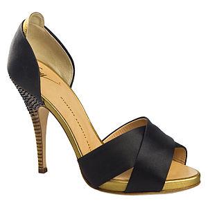 Giuseppe Zanotti Siyah Topuklu Ayakkabı