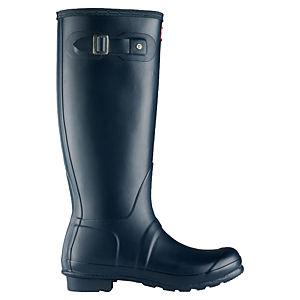 Hunter Lacivert Yağmur Çizmesi