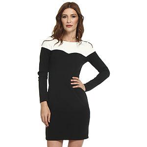 Koton Siyah/Krem Elbise