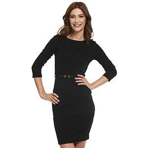 Koton Siyah Puantiyeli Elbise