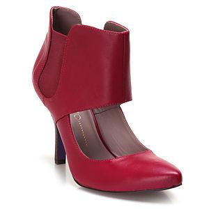 Miezko Bilekli Pembe Topuklu Ayakkabı