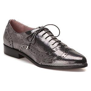Miezko Gümüş Oxford Ayakkabı