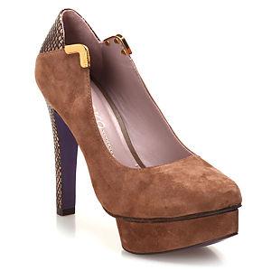 Miezko Taba Topuklu Ayakkabı
