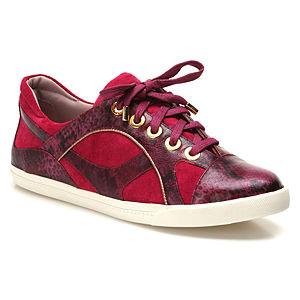 Miezko Yılan Desenli Fuşya Ayakkabı