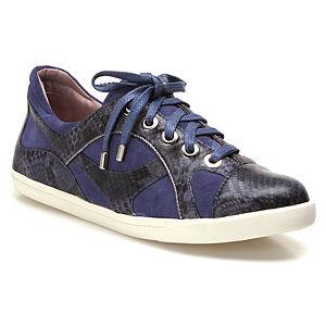 Miezko Yılan Desenli Lacivert Ayakkabı