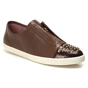 Miezko Zımbalı Kahverengi Ayakkabı
