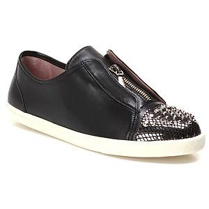 Miezko Zımbalı Siyah Ayakkabı