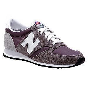New Balance Gri Süet Spor Ayakkabı
