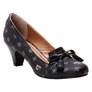 Pierre Cardin Siyah Topuklu Ayakkabı