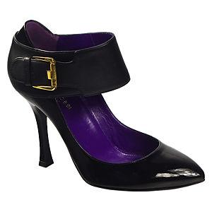 Sergio Rossi Siyah Topuklu Ayakkabı