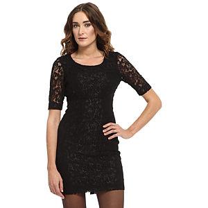 Vero Moda Siyah Dantel Elbise