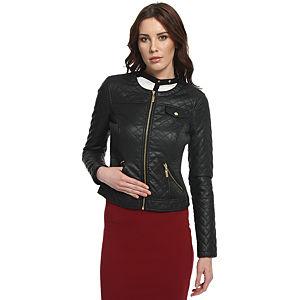 Vero Moda Siyah Deri Ceket