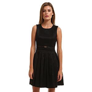 Vero Moda Siyah Elbise