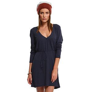 American Vintage Lacivert Elbise