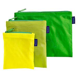 Baggu Yeşil Ekolojik 3'lü Mini Çanta Seti