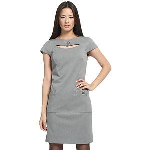 Balizza Gri Kumaş Elbise