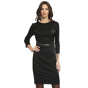 Balizza Siyah Panel Elbise