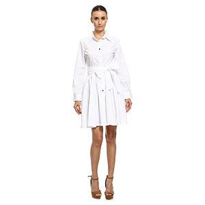 Bil's Beyaz Gömlek Elbise