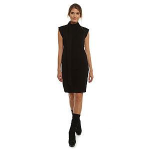 Enmoda Siyah Triko Elbise