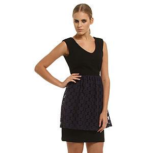Gipsy Dantelli Siyah Elbise