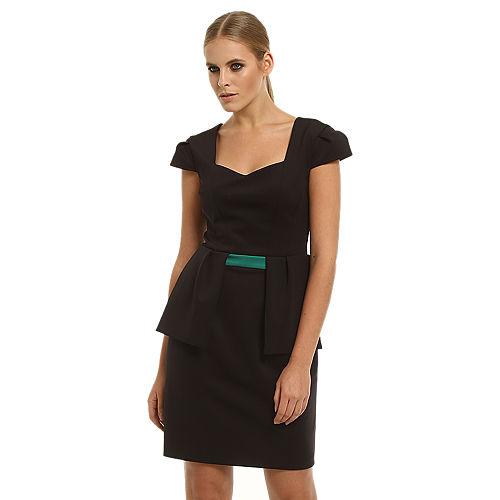 Gipsy Siyah Peplum Elbise
