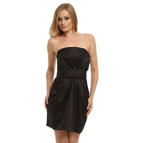 Gipsy Siyah Straplez Elbise