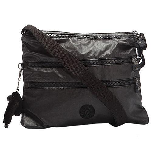 Kipling Metalik Siyah Çanta
