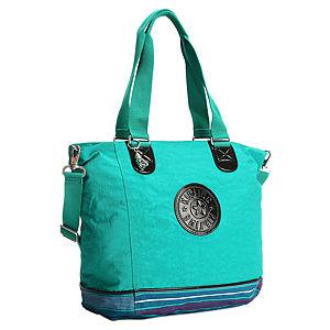 Kipling Yeşil/Mavi Alışveriş Çantası