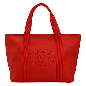 Lacoste Kırmızı Dikdörtgen Çanta