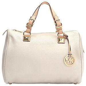 Michael Kors Kısa Saplı Beyaz Çanta