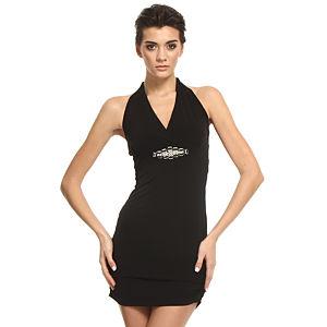 Mystictimes Siyah Mini Elbise