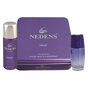 Nedens Violet 75ML EDT + 150ML Bayan Parfüm Seti