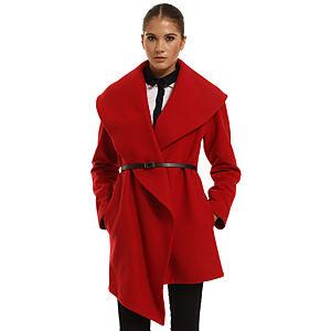 Perspective Kırmızı Palto