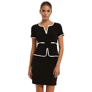 Perspective Siyah/Beyaz Elbise