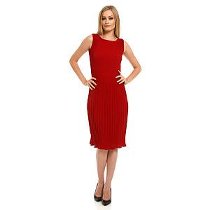 Roman Piliseli Kırmızı Elbise