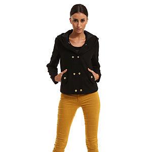 Vero Moda Kapüşonlu Siyah Ceket