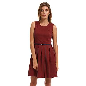 Vero Moda Kırmızı/Lacivert Elbise