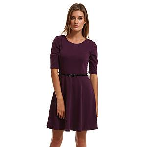 Vero Moda Mor Kloş Elbise