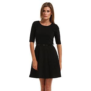 Vero Moda Siyah Kloş Elbise