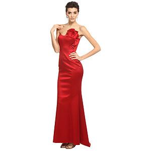 Zeynep Tosun Kırmızı Gece Elbisesi